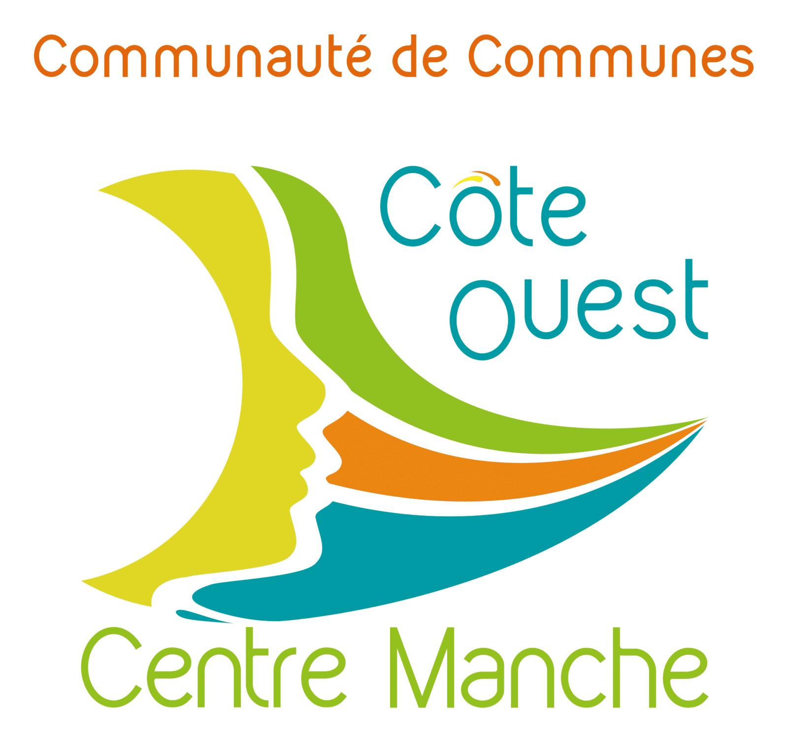 logo Côte Ouest centre Manche