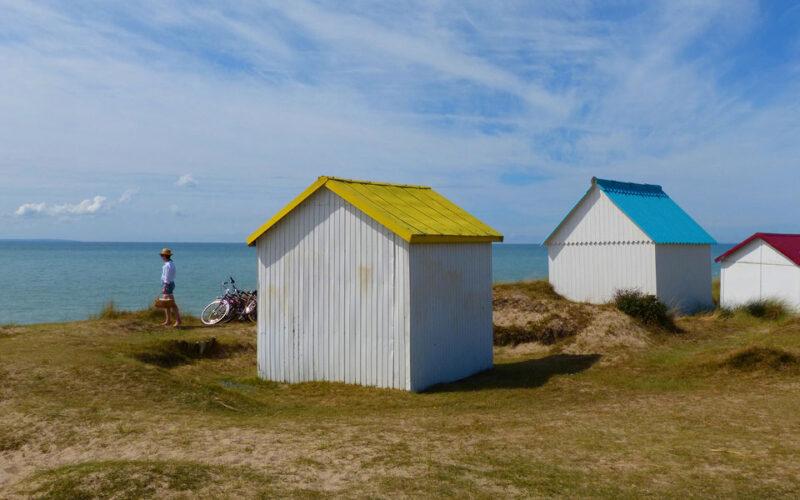 Cabines de Gouville-sur-Mer