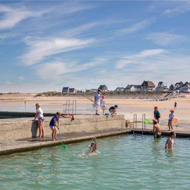 Piscine d'eau de mer - P. Fauvel