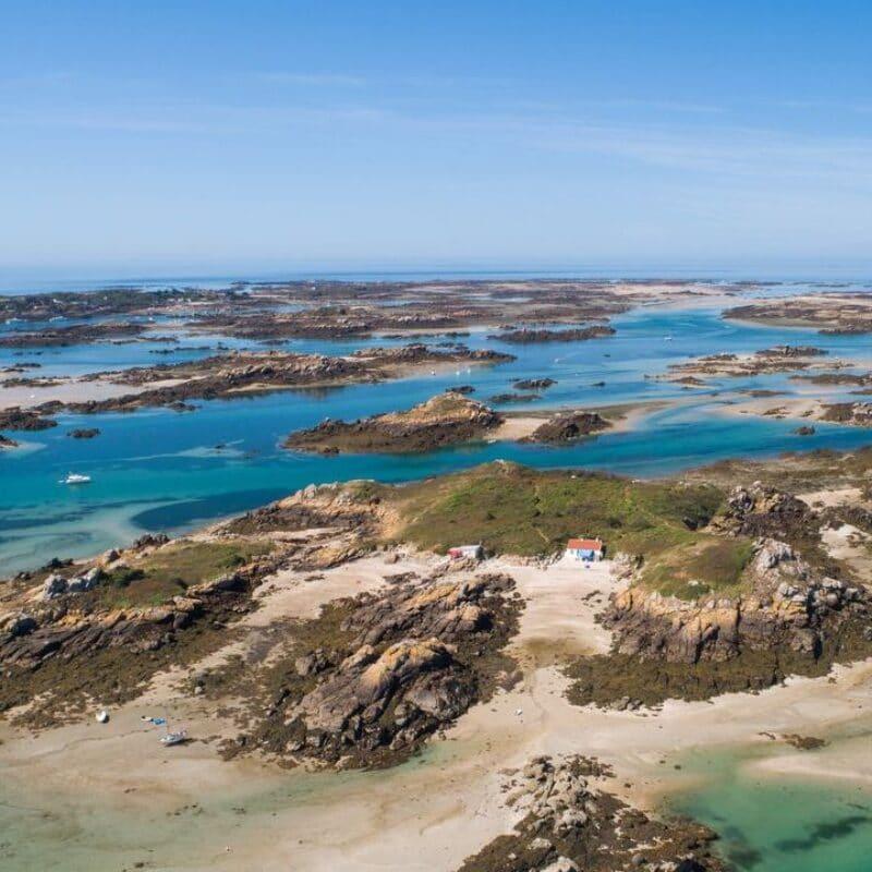 îles Chausey vues du ciel - Philippe Fauvel